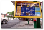 The Sonic drive-in