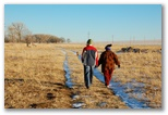 Lisbeth and Mom take a walk
