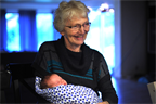 Karen meets her fifth new grandchild in less than three years