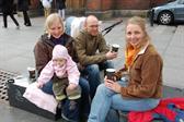 Lisbeth, Ellen, Kaspar, and Hanne