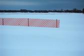 Open fields near the airport
