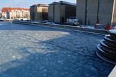 Icy salt-water in Københavns havn (Copenhagen harbor)