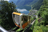 The funicular that takes you from Hallstatt to the salt mines (and back)