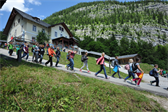 Many, many a school field trip is taken to the Hallstatt salt mine, apparently.