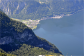 Hallstatt, seen from the Five Fingers lookout