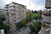 The view from Emrah's apartment in Kadiköy, a suburb of Istanbul
