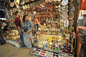 One of many, many shops in The Grand Bazaar