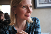 Lisbeth at Cafe Oven Vande