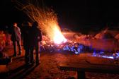 Campfire at El Porvenir
