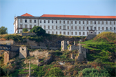 A massive, apparently abandoned building in Porto