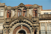 One of many rotting apartments -- this one directly across from São Bento train station in the oldest quarter of Porto