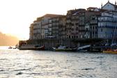 Porto, at dusk, on our return