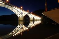 A bridge over the Douro in Barca d'Alva