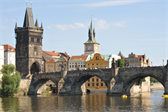 The Charles Bridge and the bridge tower