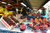 Market near the apartment