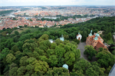 Prague from the Petrín Lookout Tower