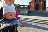 Ellen ponders the architectural aspects of Swedish cathetrals