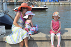 At the marina in Annapolis