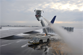 De-icing before take-off