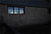 Grandpa's barn at nightfall
