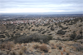 Albuquerque, as seen from the foothills