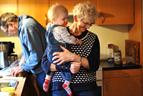 June with Grandma Haren, or 'Bedstemor'